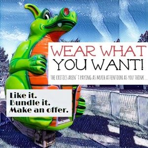 Keep POSHMARK active ♥️ Like it,  Make an Offer.